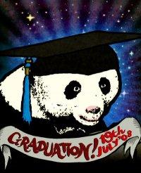 Panda Graduation